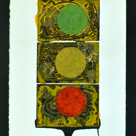 Jerry  Di Falco, , , Original Printmaking Other, size_width{planets_number_two-1563029955.jpg} X 28 inches
