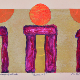 Jerry  Di Falco, , , Original Printmaking Monoprint, size_width{portal_number_nine-1562084396.jpg} X 11 inches