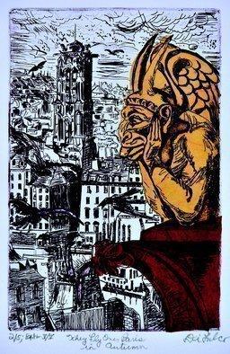 Jerry Di Falco Original Artwork Barcelona Kiss Of
