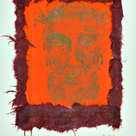 Jerry  Di Falco, , , Original Printmaking Etching, size_width{through_a_mirror-1553280123.jpg} X 15 inches