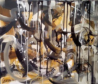George Grant; Abstract N 219, 2015, Original Painting Oil, 70 x 60 cm. Artwork description: 241  oil on canvas, abstract ...