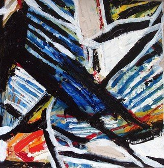 Garry Pisarek, Abstract THREE, 2012, Original Painting Acrylic, size_width{Abstract_THREE-1409852613.jpg} X 12 x  inches