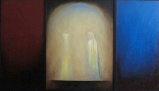 George Kofas, Angel at the Altar, 2011, Original Painting Oil, size_width{Angel_at_the_Altar-1325761690.jpg} X 78 cm