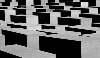 Glen Sweeney; All The Lost Souls, 2018, Original Photography Color, 135 x 80 cm. Artwork description: 241 The Holocaust monument in Berlin, in remembrance of all the lost souls taken by a despicable human regime. Holocaust, Berlin, WWII, Germany...