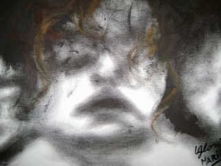 Gloria Marino; Impudent Souls, 2008, Original Painting Oil, 30 x 40 cm. Artwork description: 241  expresionism oil ...