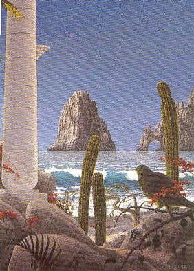 Chris Macclure; Elarco, 2001, Original other, 30 x 40 inches. Artwork description: 241 My first feeling of Cabo San Lucas when I arrived here. ...