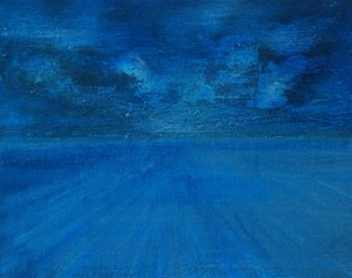Goran Petmil; STORM, 2013, Original Painting Oil, 16 x 20 inches. Artwork description: 241  THE BEACH, PAINTING OF THE BEACH, BRIGHT STORMY DAY ON THE OCEAN. THE HORIZON, OIL ON CANVAS ...