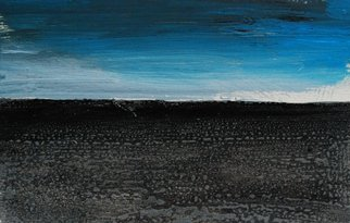 Goran Petmil; VERY EARLY, 2013, Original Painting Oil, 11 x 7 inches. Artwork description: 241  THE BEACH, PAINTING OF THE BEACH, VERY EARLY IN THE DAY ON THE OCEAN. THE HORIZON, OIL ON CANVAS ...