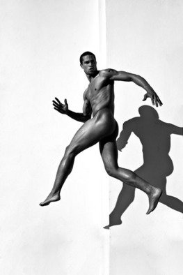 Gregory Prescott; Victor, 2009, Original Photography Black and White, 11 x 17 inches. Artwork description: 241  Male nude  ...