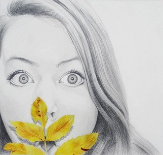 Grace Ryser; Bethany Finlinson, 2011, Original Drawing Pencil, 9 x 8 inches. Artwork description: 241  Pencil and Prismacolor ...