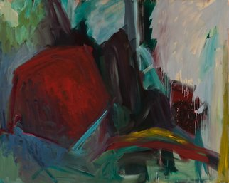 Marcia Freedman; JT 20, 2011, Original Painting Oil, 60 x 48 inches. Artwork description: 241       JT_ 20 is an abstract oil painting which references organic forms found within the desert in Joshua Tree National Park.                    ...