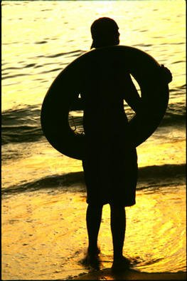 Gregory Stringfield; Beach Boy, 2001, Original Photography Color,   inches.