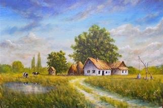 Ivan Grozdanovski; Salas 2010, 2012, Original Painting Oil, 60 x 40 cm. Artwork description: 241  SalaA! Vojvodina 2010         ...
