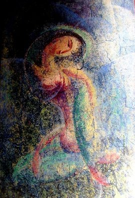 Hafeez Qasmani; Figretie, 2011, Original Painting Oil, 24 x 36 inches. Artwork description: 241         hafeez qasmanis art        ...