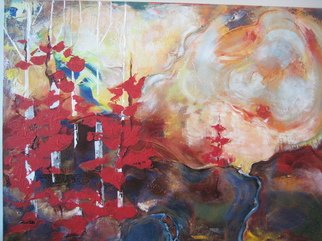 Hajni Yosifov; The Colours of The Wind, 2012, Original Painting Acrylic, 40 x 30 inches.