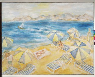 Hana Grosova; Souvenirs From Kos Greece, 2014, Original Painting Oil, 120 x 95 cm. Artwork description: 241  Summer 2013 ...