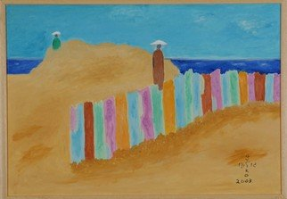 Harris Gulko; IN THE SANDS, 2003, Original Painting Oil, 19 x 11 inches. Artwork description: 241 file 1154 In the sandS...
