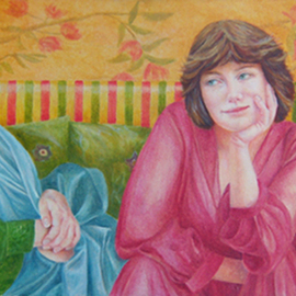 Heather Hyatt, , , Original Painting Oil, size_width{Three_Graces-1280461630.jpg} X 18 inches