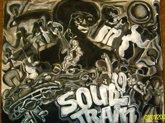 Henry Funches; soul train ft don cornelius , 2012, Original Mixed Media, 34 x 28 inches. Artwork description: 241  , should train , don cornelius   beauty    , illusion, the illustrious illusion  whitney houston, whitney , bobby brown , she flows  the birth , the bith in full color . i , i love art, henryafunches, h. funches3rd, live out loud  , travon martin, sean bell, malcolm x, white house, no justice, just us, her essence , ...