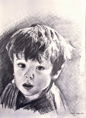 Matthew Hickey; Miles October 2011, 2011, Original Drawing Pencil, 8 x 11 inches.