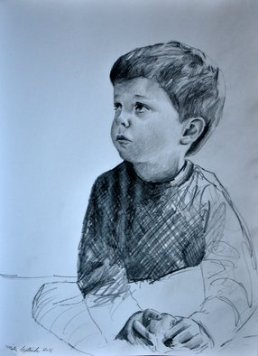 Matthew Hickey; Miles September 2011, 2011, Original Drawing Pencil, 8 x 11 inches.