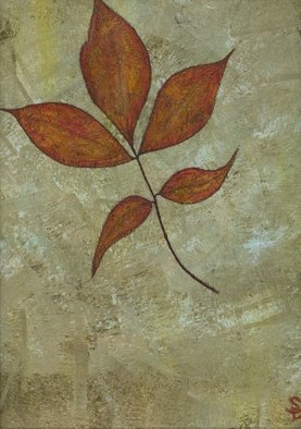 Sharon Dickerson; Still Leaf, 2008, Original Painting Acrylic, 20 x 24 inches. Artwork description: 241  Title says it all. 20. 0 ...