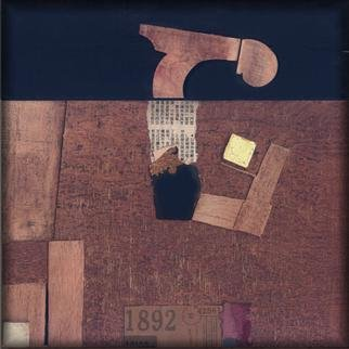 Istvan Horkay, Museum Factory, 2001, Original Collage, size_width{Museum_Factory-991678496.jpg} X 50 inches