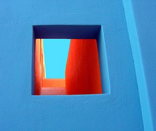 Harvey Horowitz; Cabo Window 1, 2006, Original Photography Color, 36 x 24 inches. Artwork description: 241  Cabo San Lucas Window 1 36