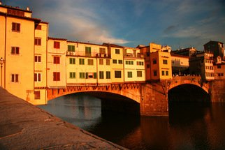 Harvey Horowitz; Pontevechio, 2008, Original Photography Color, 24 x 16 inches. Artwork description: 241  Potevechio Bridge, Florence, Italy ...