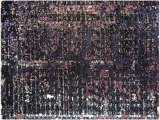 Lijing Liu; Voices City, 2013, Original Printmaking Woodcut, 86 x 57 cm. Artwork description: 241  Colorful, sity, Natural, LifePS!EcologyPS!BeautifulPS!adornmentPS!Life, coloured wood- cutPS!streak chromo xylography with overlay print ...