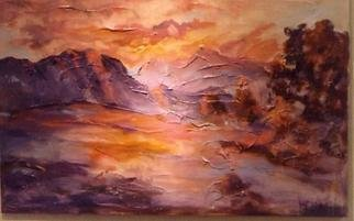 Hyacinthe Kuller-Baron; Palmspringsarts Inspired ..., 2008, Original Printmaking Giclee, 24 x 36 inches. Artwork description: 241 Palm Springs inspired Red Sunset. The landscape was first exhibited at Baron Gallery and is available as a Giclee on paper or canvas and signed. ...