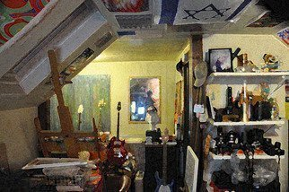 Isaac Brown; My Studio, 2008, Original Digital Art,   inches.