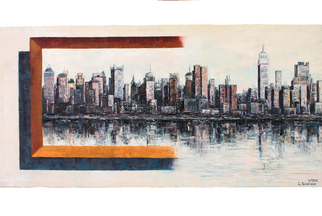 Ia Saralidze,  New York, 2015, Original Painting Oil, size_width{_New_York-1483761730.jpg} X 101 x  inches