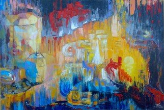 Ia Saralidze, , , Original Painting Oil, size_width{abstraction_fantasy-1499684337.jpg} X