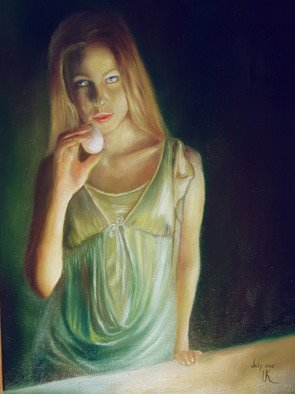 Irina Kharchenko; An Egg, 2005, Original Painting Oil, 16 x 20 inches. Artwork description: 241  oil on canvas ...