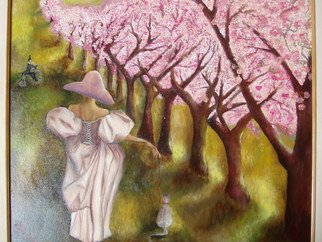 Irina Kharchenko; Promenade, 2007, Original Painting Oil, 20 x 24 inches. Artwork description: 241  oil on canvas ...