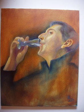 Irina Kharchenko; Vodka, 2005, Original Painting Oil, 16 x 20 inches. Artwork description: 241  oil on canvas ...