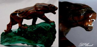 Denis Isakov; Tiger, 2007, Original Sculpture Stone, 31 x 24 cm. Artwork description: 241   Carving / manual jobTo order  ...