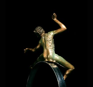 Martin Glick; Puck, 2011, Original Sculpture Bronze, 20 x 33 inches. Artwork description: 241  Puck is a character in both the play and the ballet