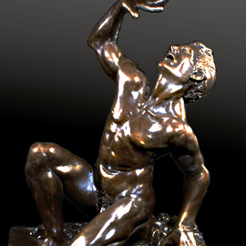 Martin Glick, , , Original Sculpture Bronze, size_width{The_Marking_of_Cain-1298049895.jpg} X 35 inches