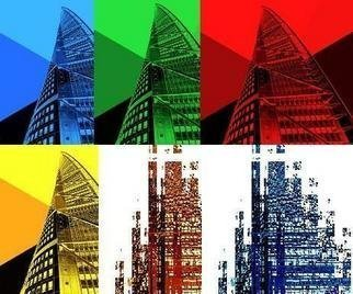 Bengt Stenstrom; Turning Torso    6 Pictures, 2009, Original Photography Other, 40 x 40 cm. Artwork description: 241  6 pictures, framed, 40cm x 40cm each.  Black wooden frame and white passepartout.  Please note picture here shows all 6.  They are sold as 6 separate pictures wframes, or as a lot.  Price per each.  ...