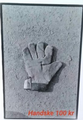 Bengt Stenstrom; Handske Glove, 2008, Original Photography Black and White, 5 x 10 inches. Artwork description: 241 Photo...