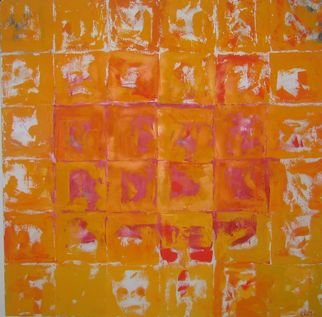 Ivonne Villafuerte; Aragon Faces , 2005, Original Painting Oil, 36 x 36 inches. Artwork description: 241  Faces in life  ...
