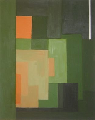 Ivonne Villafuerte; Grass Field, 2006, Original Painting Oil, 24 x 30 inches.