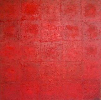 Ivonne Villafuerte; Passion , 2005, Original Painting Oil, 30 x 30 inches. Artwork description: 241  Red as an expresio of Passion ...