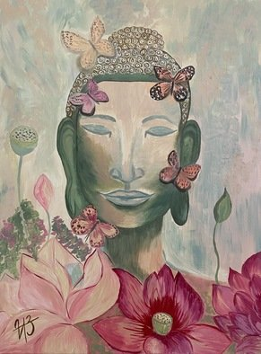 Iryna Zubenko; Harmony Of Buddha, 2020, Original Painting Oil, 60 x 80 cm. Artwork description: 241 Buddha symbolizes spiritual harmony, peace and tranquility.According to feng shui, a picture of the Buddha will bring health, longevity, and also bring success to people engaged in any business. ...