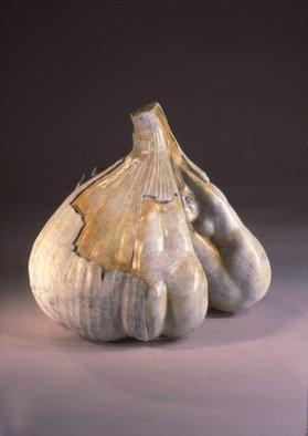 Jack Hill; Garlic, 2004, Original Sculpture Bronze, 12 x 12 inches. Artwork description: 241  The full title of this piece is Garlic Breath. ...