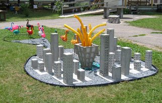 Jacques Malo, Flamants frites, 2007, Original Assemblage, size_width{Flamants_frites-1352649581.jpg} X 4 x  feet