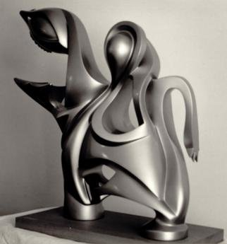 Jacques Malo; Ingenue, 1984, Original Sculpture Other, 30 x 28 inches. Artwork description: 241 Private collection...
