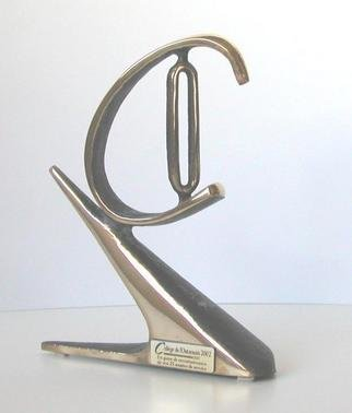 Jacques Malo; Le Malo, 2002, Original Sculpture Bronze, 6 x 8 inches.
